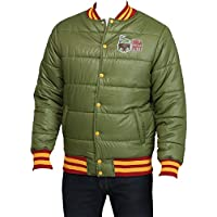 Star Wars Men's Boba Fett Puff Jacket (Military Green)