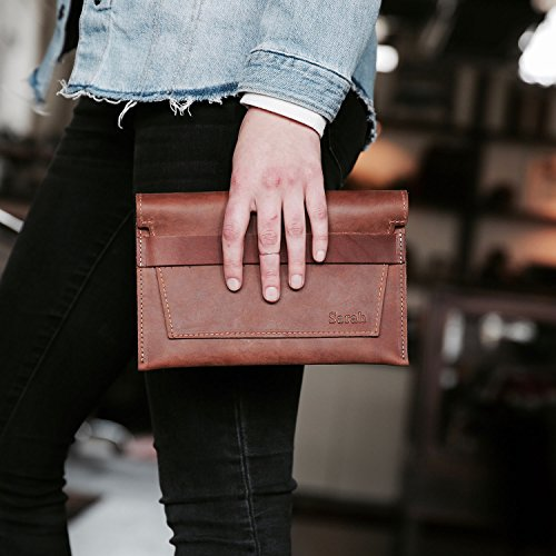 The Moriah Fine Leather Clutch by Holtz Leather Co.