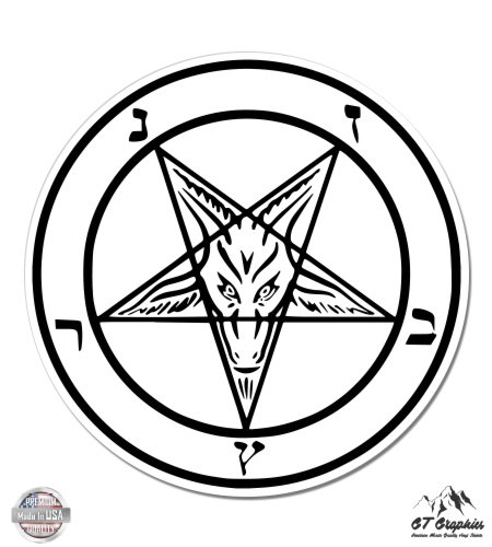 Baphomet Pentacle Goat Satan - 3