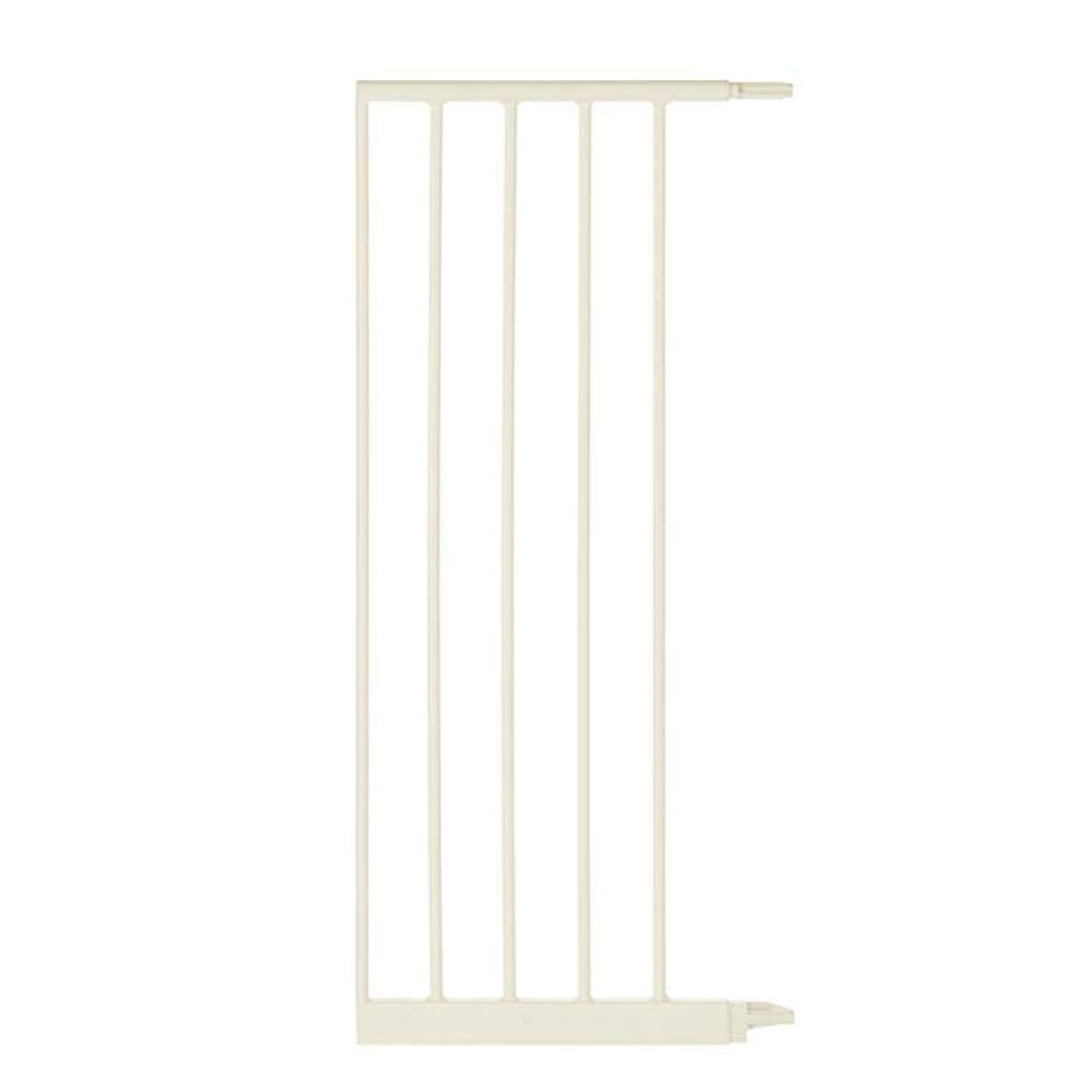 North States 5-Bar Extension for Soft White Wide Portico Arch Baby Gate Add extension for a gate up to 60.5 wide Adds 13.42 width, Soft White