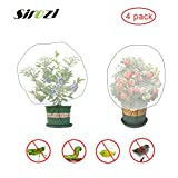 Sirozi 4 Pack Insect Bird Barrier Net Mesh with