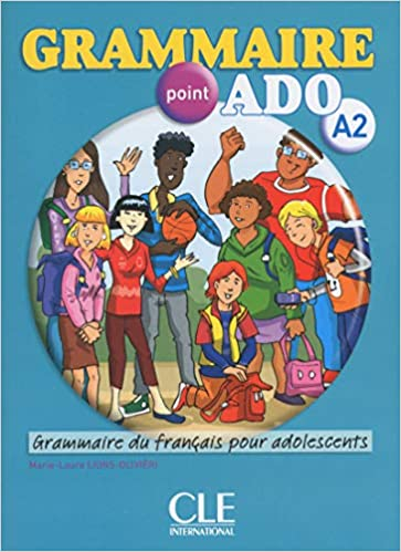Grammaire Point Ado Livre Cd Audio A2 French Edition