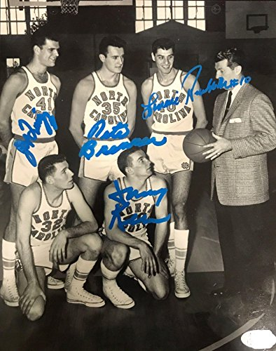 1957 UNC North Carolina Tar Heels Team Signed 8x10 Photo - JSA Certified - Autographed College Photos