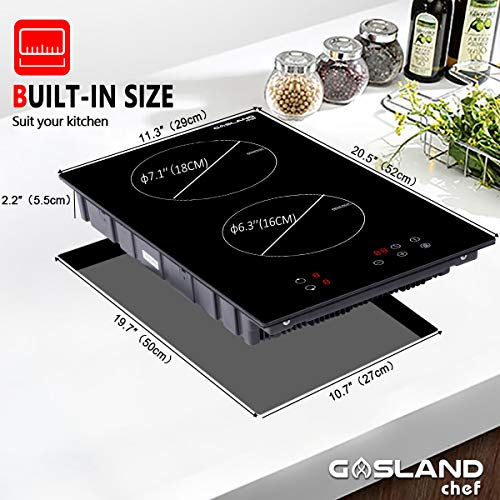 Induction Cooktop, Gasland Chef IH30BF 12&