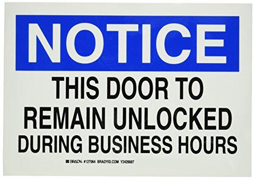 Brady 127064 Legend Unlocked Business