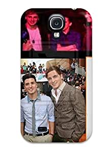 New Style Case Cover AUEeNfH850IUhTX Beautiful Big Time Rush By Shewolf Dbiv Compatible With Galaxy S4 Protection Case