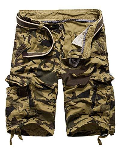 Cargo Libero Abbigliamento Sportivi Allenamento Tempo Camo Pantaloncini All'aperto Per Festivo Il Estivi Bianca Da Uomo Pantaloni Larghi Basic Bermuda 8xqAapnw