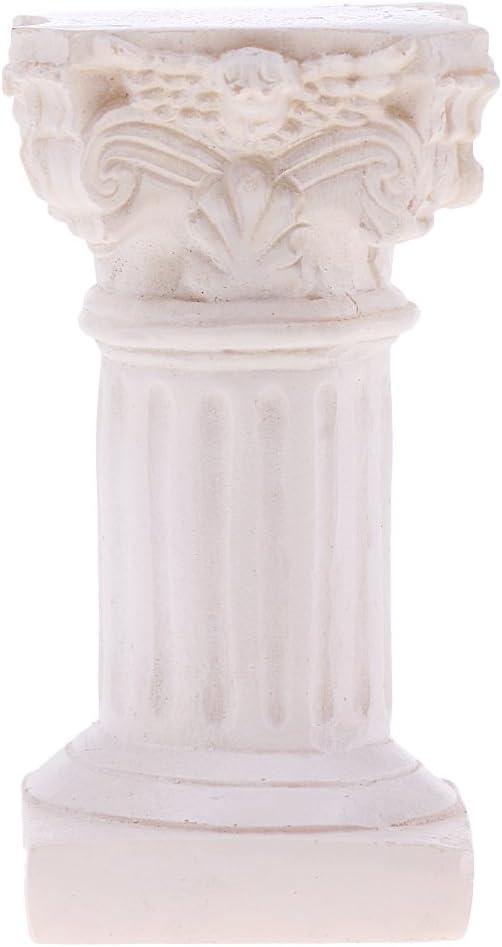 Columna De Casa De Muñecas /& Estatua Jardín de Casa de Muñecas Accesorios