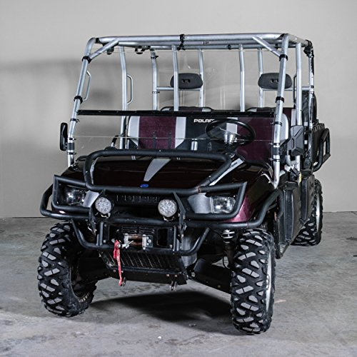 Polaris Ranger Crew Full Tilting UTV Windshield - (Fits the 2003-2009  Models) Made in USA-Best of both world half when you want and full when you