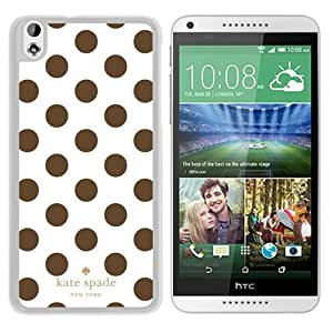 New Fashion Custom Designed Kate Spade Cover Case For HTC Desire 816 White Phone Case 299
