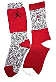 NIKE Kids' Jordan Jumpman Elephant Print 2-Pack High Crew Socks 3Y-5Y
