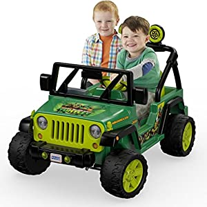 Power Wheels Nickelodeon Teenage Mutant Ninja Turtles Jeep Wrangler