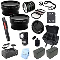 Advanced Professional Kit: for Sony HXR-NX5U NXCAM Professional Camcorder