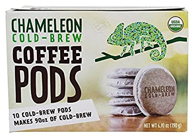 Chameleon Cold-Brew - Organic Cold Brew Coffee Pods - 10 Pod(s) from Chameleon Cold-Brew