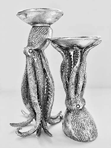 Clint Eagar Octopus Candle Holders Set of 2