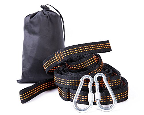UniGift Special Shoulder Strap for Outdoor Hammock-[2 piece set] High-Strength Nylon- Easy to Install and Hang Any Swing (tree swing belt is better than swing chain and rope!) by UniGift