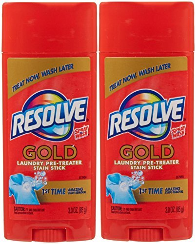 Resolve Pre Treat Stain Stick - 3 oz - 2 pk