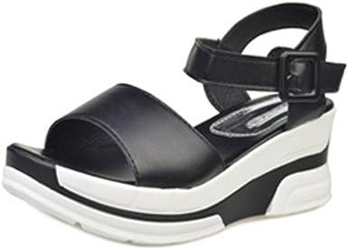 Summer Fashion Women Open Toe Platform High Heel Gladiator Sandals Chunky Shoes