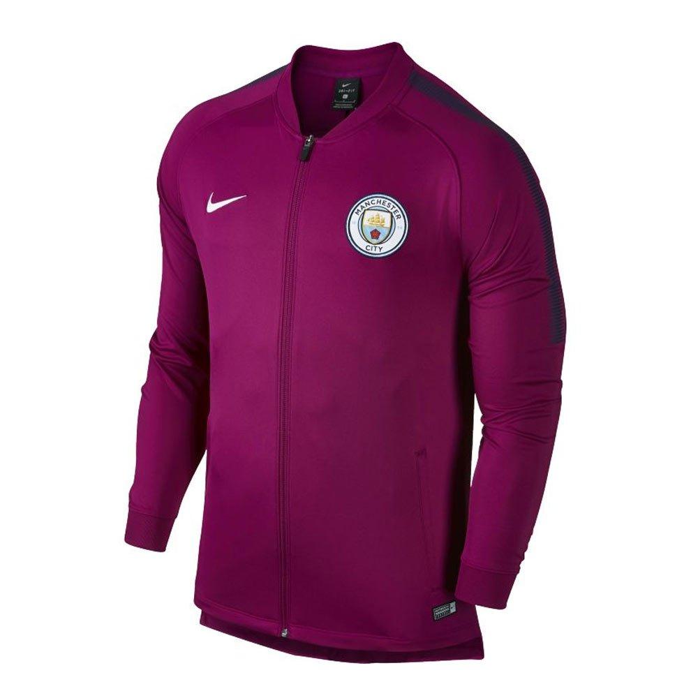 2017-2018 Man City Nike Core Trainer Jacket (True Berry) B005BM52Q4
