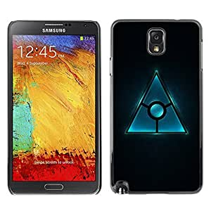 GagaDesign Phone Accessories: Hard Case Cover for Samsung Galaxy Note 3 - Triangle Design