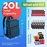 Cooler Backpack Insulated Leakproof – 36