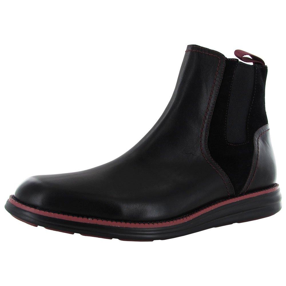 Donald J Pliner Mens Emery-77 Slip On Ankle Boot Shoe