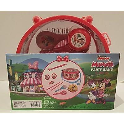 Disney Junior Minnie Party Band 10 Piece Set: Toys & Games