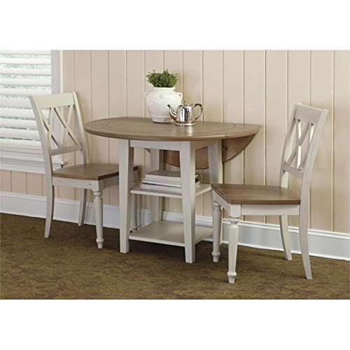 Liberty Furniture Al Fresco III 3 Piece Drop Leaf Dining Set