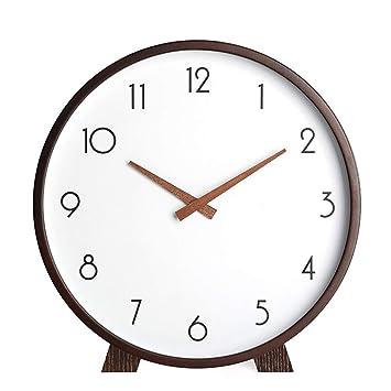 Reloj de Sobremesa de Mesa Reloj de Escritorio de Madera Maciza ...