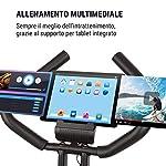 KLAR-FIT-Klarfit-X-Bike-XBK700-Bici-Cardio-Ergometro-Pieghevole-Fitness-Bike-Computer-di-Allenamento-Cardiofrequenzimetro-Sella-Ergonomica-Resistenza-a-8-Livelli