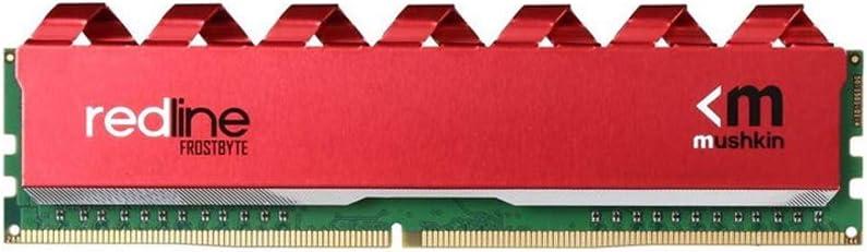 Mushkin 32GB 2X16GB Redline DDR4 UDIMM PC4-3200 Desktop Memory Model MRA4U320GJJM16GX2