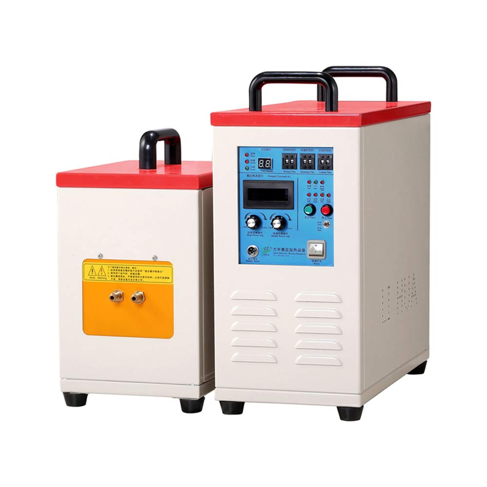 BTDH 110V-220V Induction Heater Heating Machine 50-60Hz Metal Melting Furnace Weld Digital Display Switch Heating Melting w//with Automatic and Foot Switch Heating