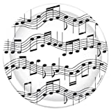 Beistle Musical Note Plate, 9-Inch