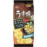 亀田製菓 うす焼グルメローストガーリック味 75g×12袋