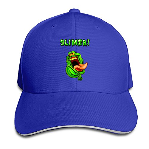 The Real Ghost Busters Wallpapers Logo Solid Colors Hat Sandwich Bill Caps