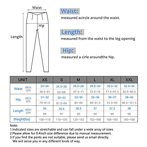 IUGA High Waist Yoga Pants with Pockets, Tummy Control, Workout Pants for Women 4 Way Stretch Yoga Leggings with Pockets by IUGA (Image #6)