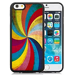 New Personalized Custom Designed For iPhone 6 4.7 Inch TPU Phone Case For Colored Swirl Phone Case Cover