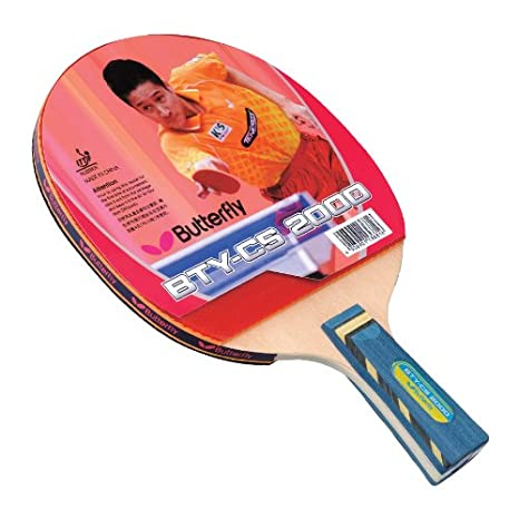 64d5cb3a422 Amazon.com   Butterfly BTY CS 2000 Table Tennis Racket - Chinese ...