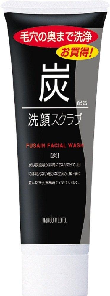 【マンダム】炭洗顔スクラブのサムネイル
