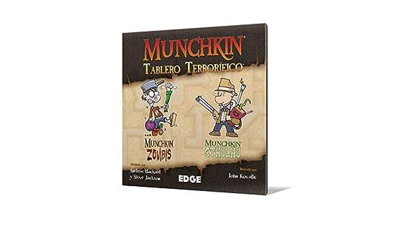 Edge Entertainment Munchkin-tablero terrorífico-español. (EDGMUGB2) , color/modelo surtido: Amazon.es: Juguetes y juegos