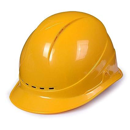 YAN JUN El casco respirable del ABS de cuatro lados, seguro del trabajo del casco