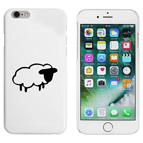 Blanc 'Mouton' étui / housse pour iPhone 6 & 6s (MC00083995)