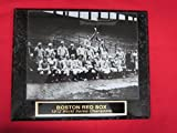 1912 Red Sox World Series Champions Collector Plaque w/8x10 TEAM PHOTO!