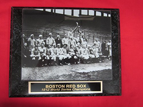 World Champions Series Collectors - 1912 Red Sox World Series Champions Collector Plaque w/8x10 TEAM PHOTO!