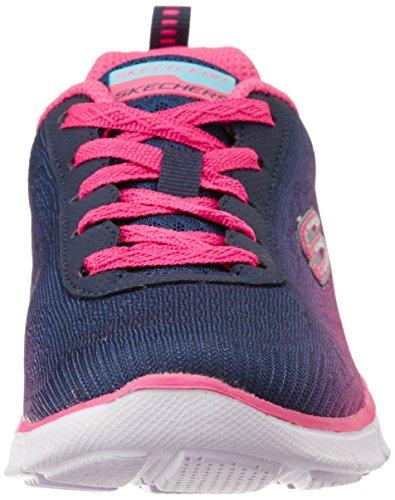 Skechers Equalizer - Zapatillas de running de sintético para niña azul azul 17 azul - Blau (NVHP)