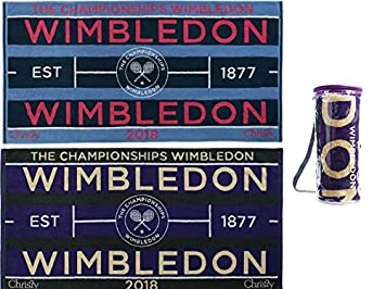 Wimbledon de tenis de corte toallas 2018 Lady & hombre Set de dos nueva.
