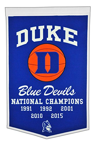 Winning Streak NCAA Duke Blue Devils Dynasty Banner
