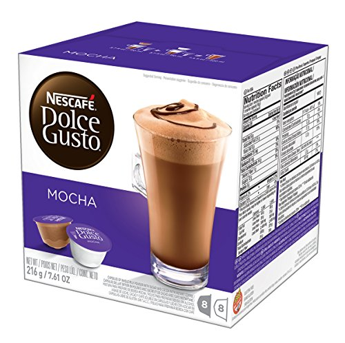 (NESCAFÉ Dolce Gusto Coffee Capsules  Mocha  48 Single Serve Pods, (Makes 24 Specialty Cups)   48 Count)