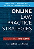 Online Law Practice Strategies : How to Turn Clicks into Clients, Homer, Mark and LeBret, Jabez, 0982640374