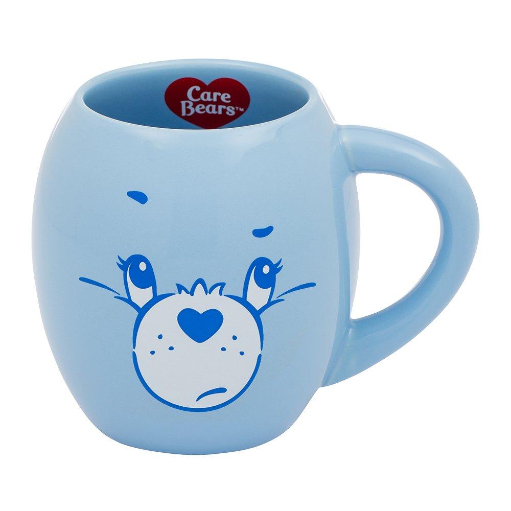Vandor Care Bears Grumpy Bear 18 Ounce Oval Ceramic Mug Accessory Consumer Accessories 29062